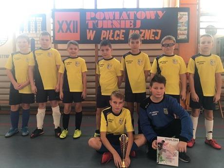 XXII Mistrzostwa Powiatu w Halowej Piłce Nożnej Chłopców